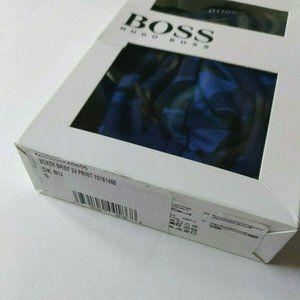 Hugo Boss Boxer Brief 24 Print Mens Small Blue